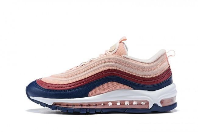air max 97 femme rose,Nike Air Max 97 rose pale Femme - Chaussures ...