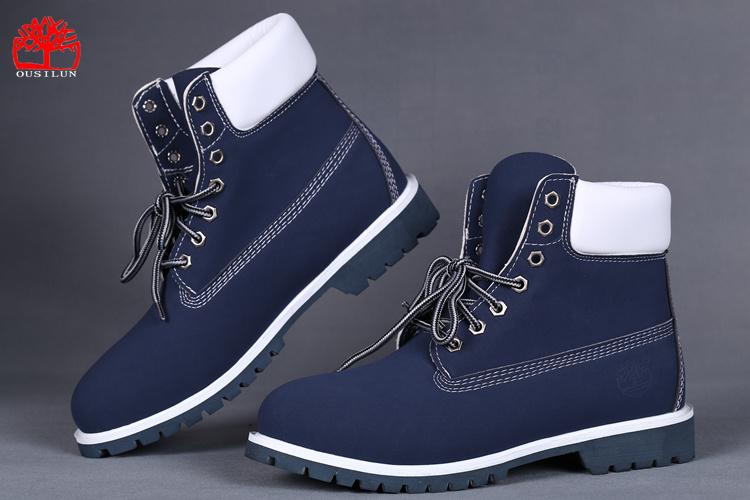 timberland bleu homme chaussure
