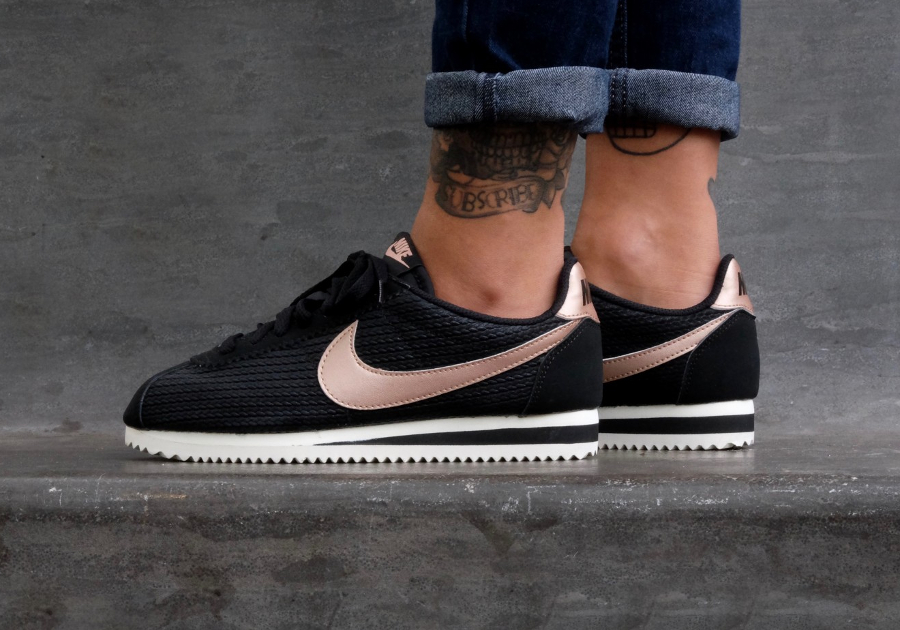 Nike Cortez Leather Red Bronze (Rose Gold) : où l'acheter ?